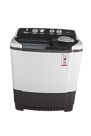 LG 8.0 kg Semi-Automatic Top Loading Washing Machine (P9039R3SM, Dark Grey)