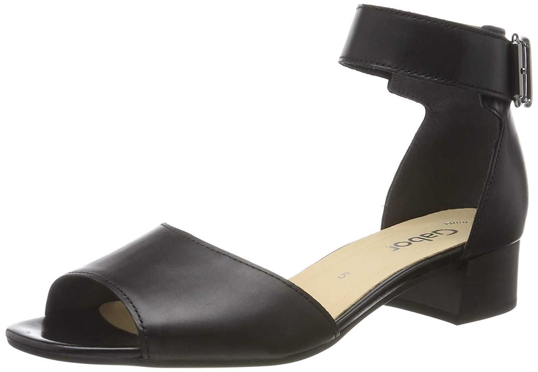 Noir (noir 27) Gabor chaussures Gabor Fashion, Sandales Bride Cheville Femme