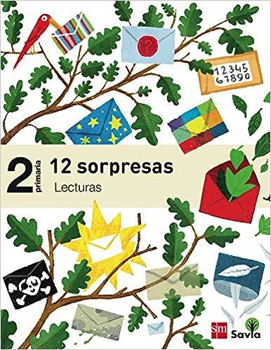 Descargar ebooks para encender de la computadora Lecturas: 12 sorpresas. 2 Primaria. Savia PDF