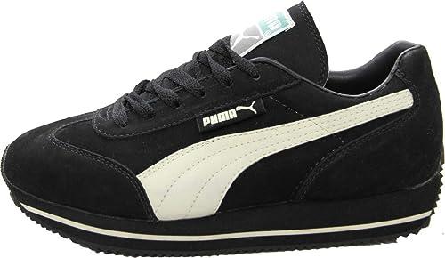 A veces Salón polla  PUMA Schuhe Street Cat Nubuck Black/Sand - Sneaker Sneaker Schuhe -  Laufschuhe, Schuhgrösse:38.5: Amazon.de: Schuhe & Handtaschen