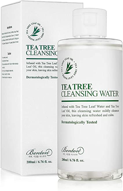 Amazon.com: Benton Tea Tree Cleansing Water, 6.76 fl oz (200 ml ...