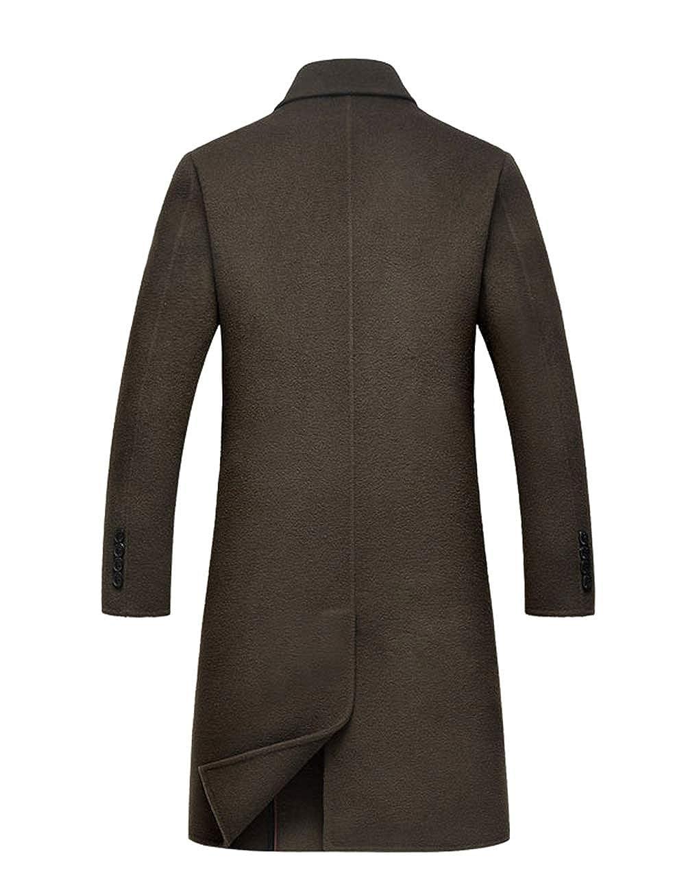 SK Studio Studio Studio Herren Kaschmir Mantel Business Slim Fit Overcoat Lang Tailor Zweireihig Winterjacke Trenchcoat B07HRN42DL Jacken Die Menschen verlassen sich auf Kleidung f8248b