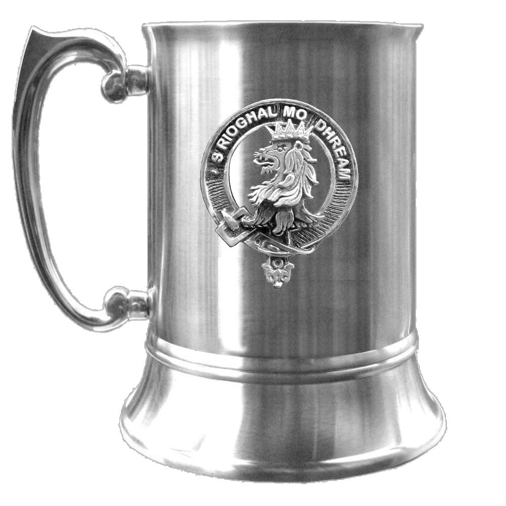 MacGregor Scottish Clan Crest Badge Tankard