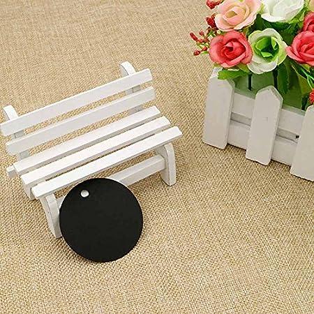 con 30/meters di iuta spago 5/cm * 5/cm 100/pz etichette in carta kraft etichette regalo perfetto da appendere tag for Art /& CRAFT Project White