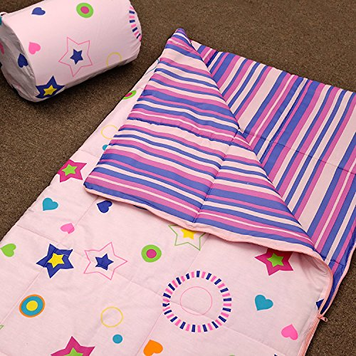 Veratex Star Dance Collection Children's Slumber Party Space Pattern Bedroom Sleep Over Bag, Pink by Veratex