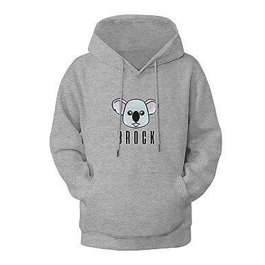 c4286a7590c0 Amazon.com  Cute Colby Brock Koala Logo Pullover Hoodie Graphic Sweatshirt  for Women  Clothing