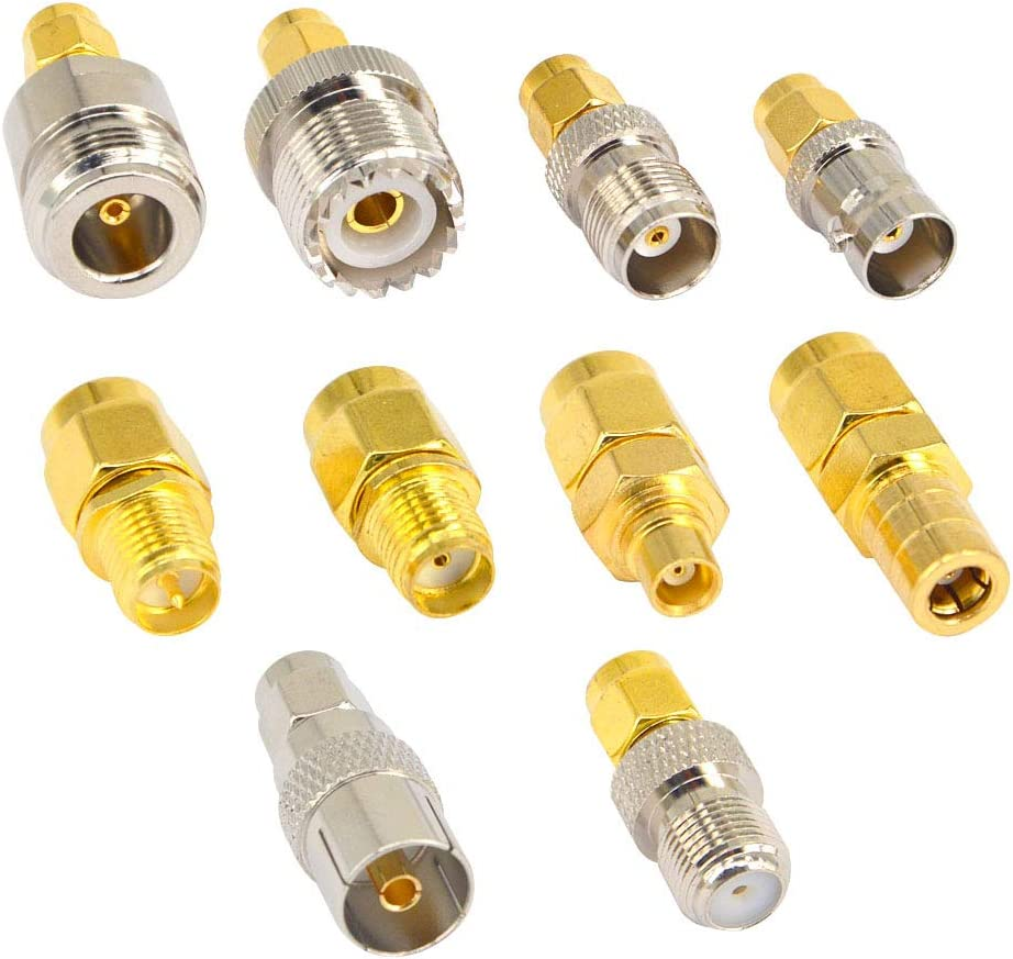 connecteur TNC UHF Adaptateur UHF vers TNC convertisseur dadaptateur coaxial 2 PCS RF