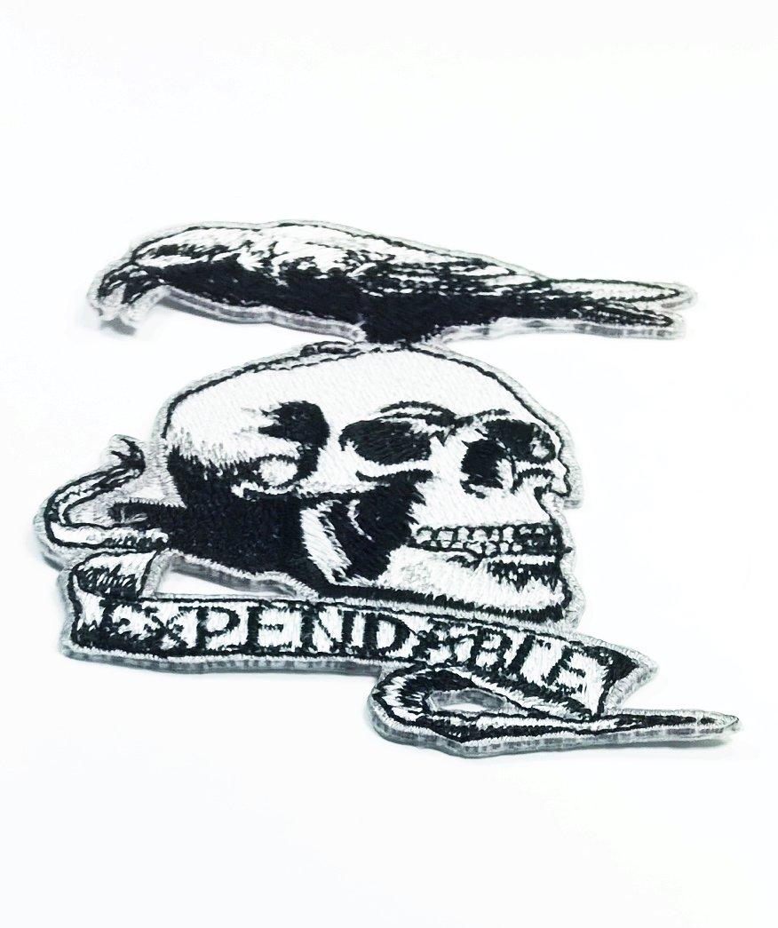 Amazon The Expendable Skull Crow Moive Logo Jacket T Shirt