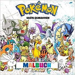 Pokémon Malbuch Erste Generation 151 Ausmalbilder Enthält Alle