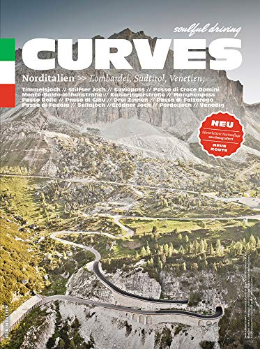 Pdf Travel Curves: Northern Italy (2019 reprint): Lombardy, South Tyrol, Veneto (English and German Edition)