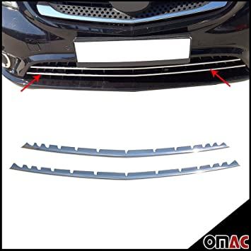 Chrome Stainless Steel Lower Front Grille Cover