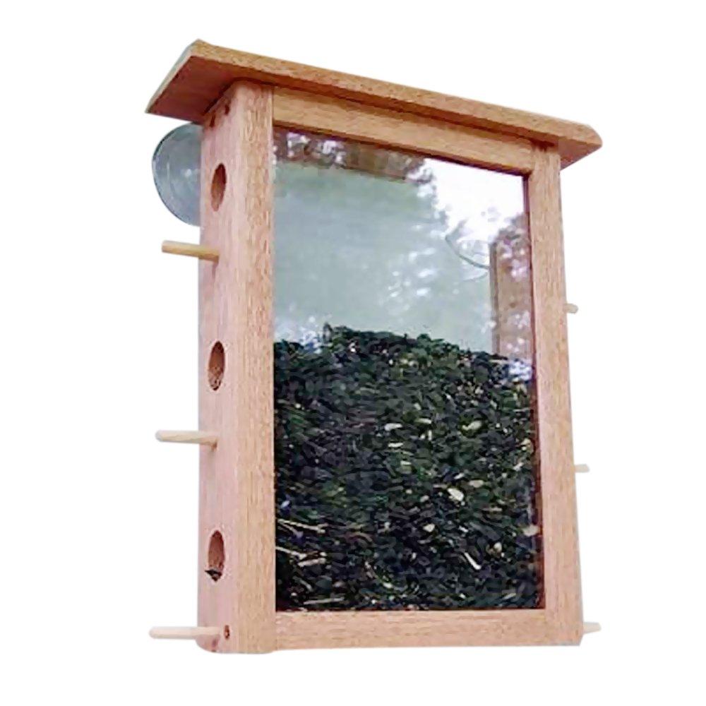 Window bird house - Amazon Com Coveside See Through Window Mount Bird Feeder Wild Bird Feeders Patio Lawn Garden