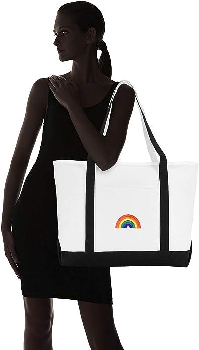 Simbi Rainbow Veve Graphic Tote bag