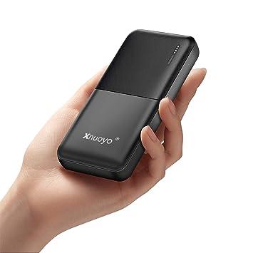 Xnuoyo 20000mAh Power Bank Cargador Portátil de Alta Capacidad Batería Externa con Indicadores LED Entrada de Tipo C & Micro y Puertos de Salida USB ...