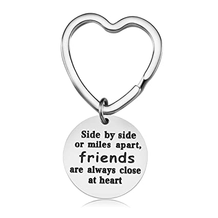 Amazon.com : Best Friend Gifts Keychain - Friendship Gift for Women ...