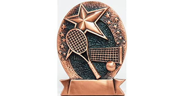 Amazon.com: Bronce Placa de tenis (envío gratuito): Sports ...