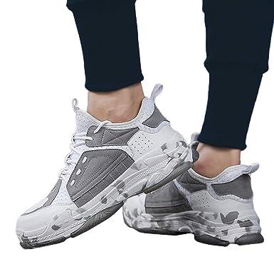Calzado Deportivo de los Hombres Empalme, Moda Zapatos Casuales Tendencia de los Hombres