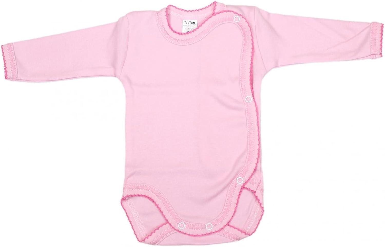 TupTam Unisex Baby Wickelbody Langarm 5er Set