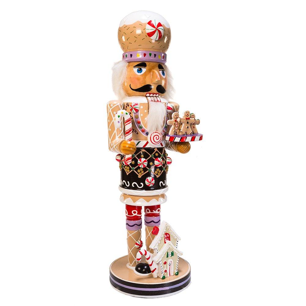 Amazon.com: Kurt Adler 16-Inch Wooden Gingerbread Christmas ...