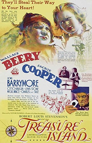 treasure-island-poster-movie-1934-style-b-11-x-17-inches-28cm-x-44cm-wallace-beeryjackie-cooperlione