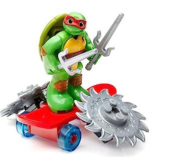 Mega Bloks Teenage Mutant Ninja Turtles Half-Shell Heroes Raph with Skateboard
