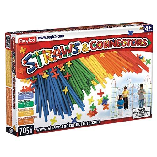 (Roylco Straws and Connectors 705 Piece)