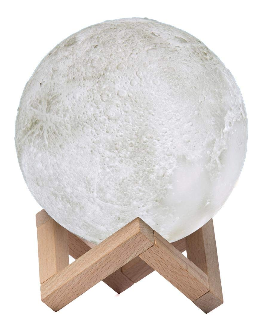 Amigo Moon Lamp - Your Night Light - 17 cm (6.5