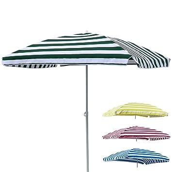Sonnenschirm Rechteckig 120x180 Cm Knickbar Langlebiges Polyester