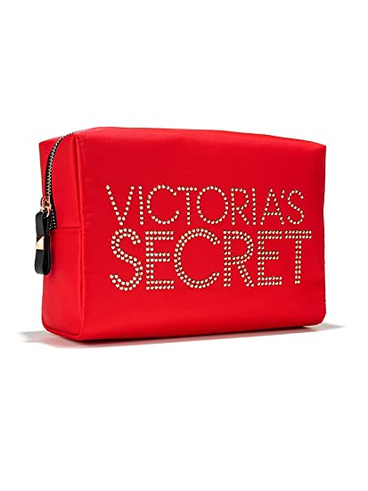 Victoria Secret Studded xxl-cosmetic Case Red: Amazon.es ...