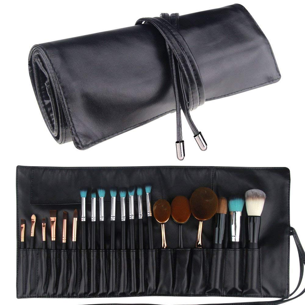 Relavel Makeup Brush Rolling Case
