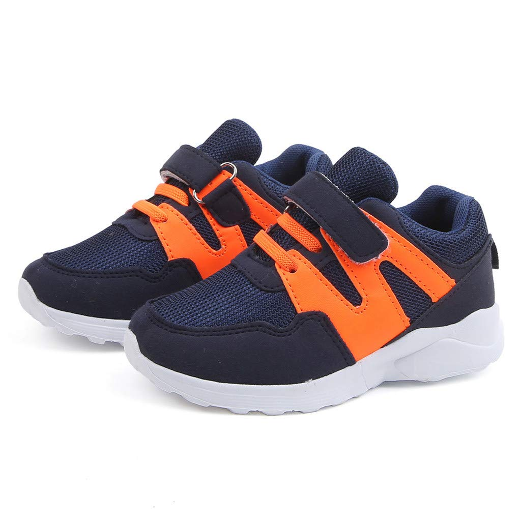 Toddler Kids Sneakers Casual Running Shoes Lightweight Breathable Sneakers Strap Athletic Shoes Memela