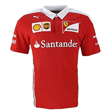 Ferrari F1 Racing Replica SF Team Puma Poloshirt rot offizielle ...