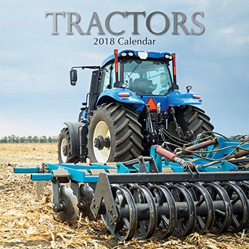 2019 Tractors Calendar - 12 x 12 Wall Calendar - With 210 Calendar Stickers free shipping