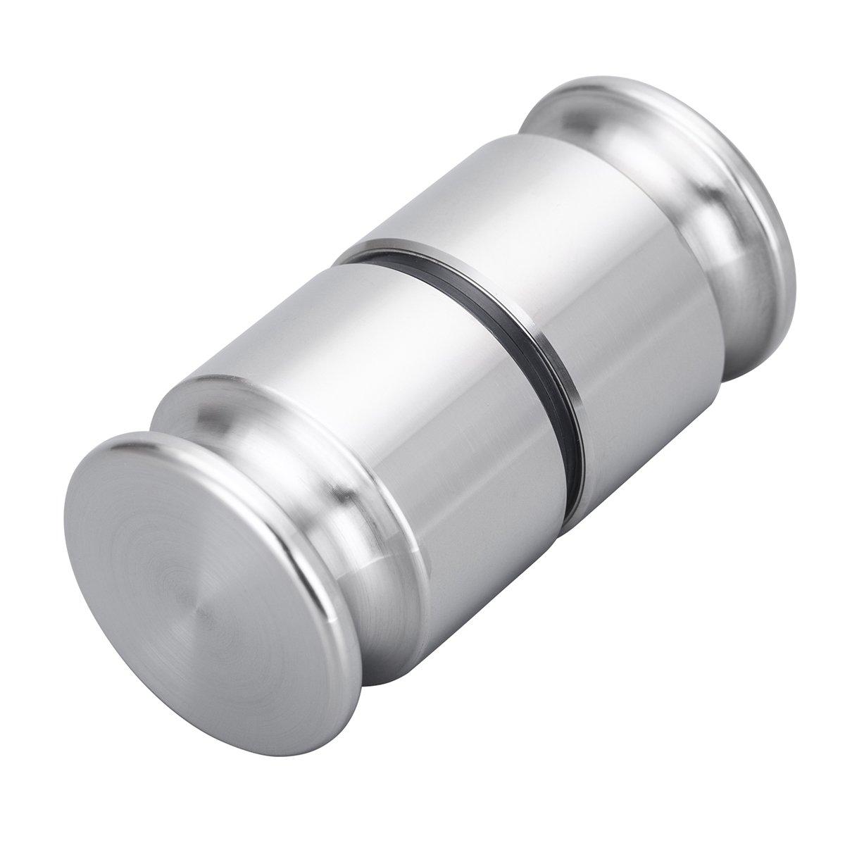 Solid stainless steel Shower Door Pair Handle Knob, Door handle knob, Groove Shower Door Handle knobs, handles knobs for bathroom DIYI