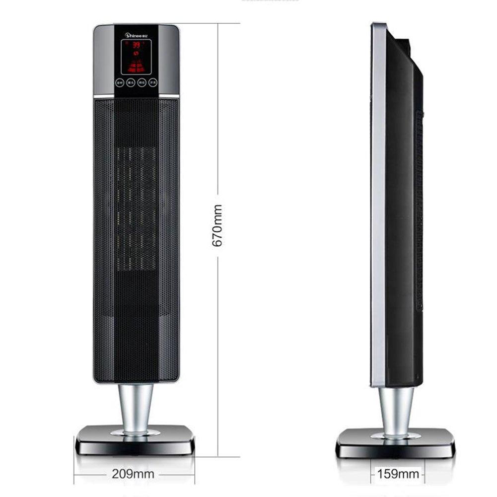 ZHIRONG Radiador Calentador de control remoto Tower Style Home Super calentador caliente PTC Heter Ahorro de energía Hot Air Blower Control remoto ...