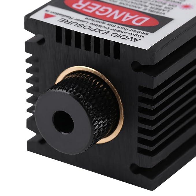 2,5 W 445 nm TTL Módulo Azul láser incandescente, 100 - 240 V láser cabeza grabado módulo con disipador de calor para DIY láser máquina envejece: Amazon.es: ...