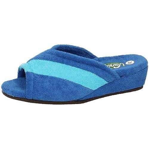 VANITY 572 Chinelas con CUÑA Mujer Zapatillas CASA AZULÓN 41: Amazon.es: Zapatos y complementos
