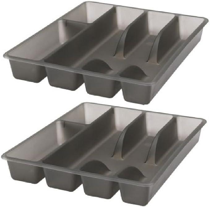 Ikea Flatware Silverware Cutlery Trays (2-pack) 10 X 12 Drawer Insert Smacker: Buy Online at Best Price in UAE - Amazon.ae