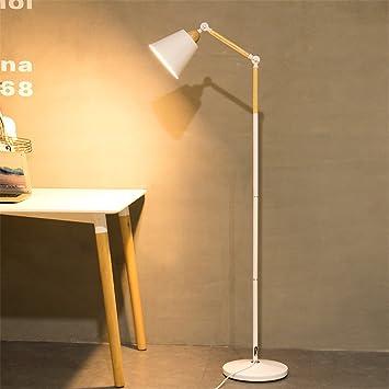 GMM Lámpara de pie Moderno Minimalista LED Pesca con luz ...