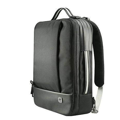 Habik tres funciones mochila / maletín/bolsa de mensajero para ordenador portátil macbook 13 15