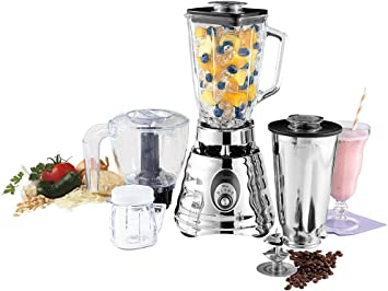 Oster BLSTBC4129 Kitchen Center Batidora de colmena, Plata: Amazon ...