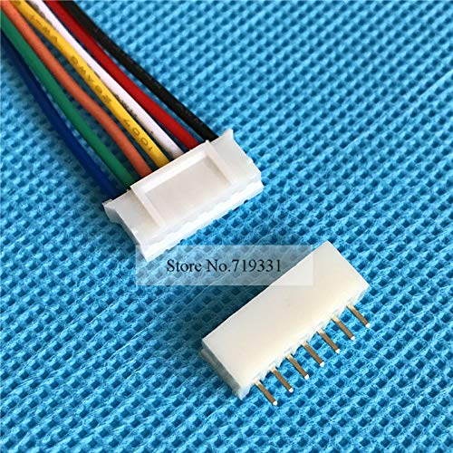 Gimax 1000Sets MIni 2.0mm 7pin Cable 2.0 7-Pin Connector plug Male Female Connector W. Wire by GIMAX (Image #4)