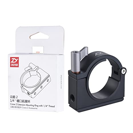 Zhiyun Crane 2 Extension Mounting Ring With 1/4 Inch 3/8 Inch Thread by Zhi Yun