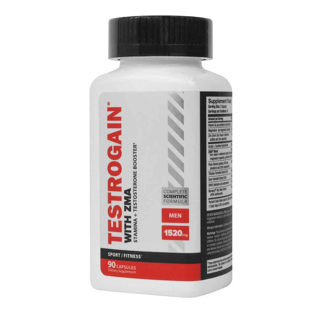 Newton-Everett Nutraceuticals Testrogain with ZMA, 90 Count