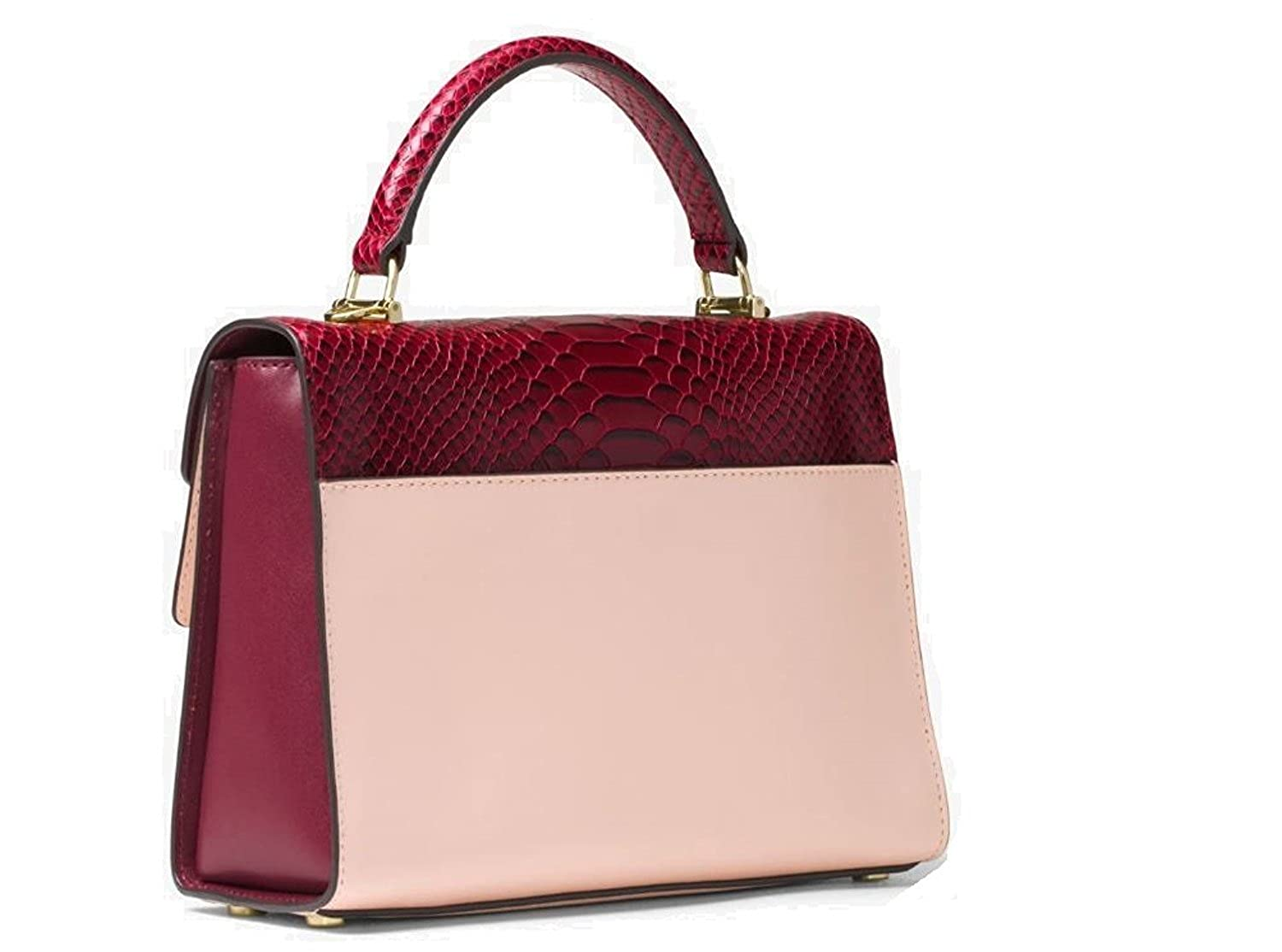 6a76f9724594 Michael Kors Sloan Medium Top Handle Satchel  Handbags  Amazon.com