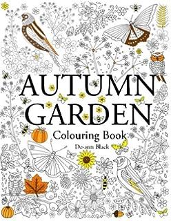 Autumn Garden Colouring Book
