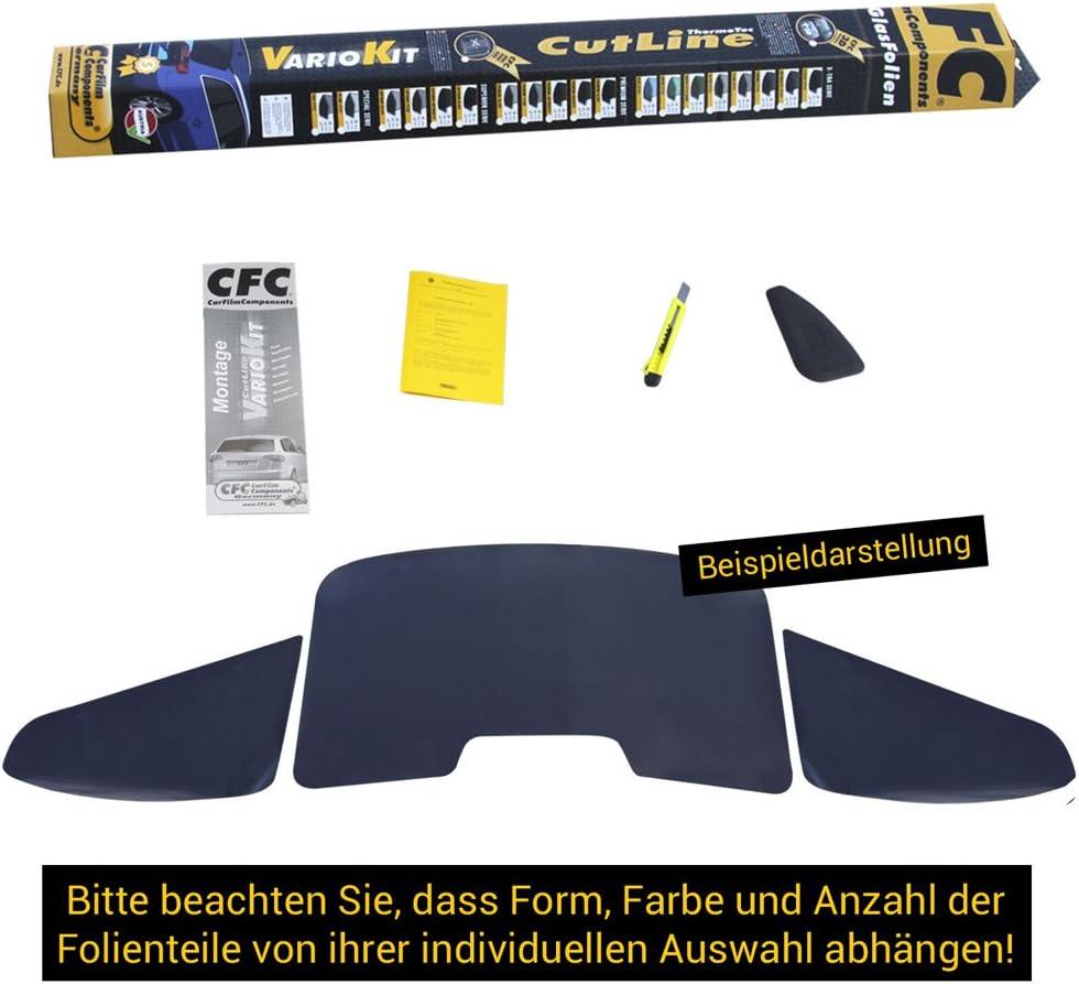 Farbbezeichnung: premium-black tiefschwarz Lichtdurchl/ässigkeit: 5/% Artikel-Nr: AG-P05-OP-018-T UV-R/ückweisung: 99/% CFC 3D T/önungsfolie passgenau und vorgeformt Hitze-R/ückweisung: 60/%
