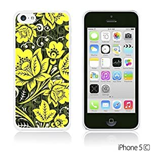 Flower Pattern Hardback For LG G2 Case Cover - Hohloma Gold Flower