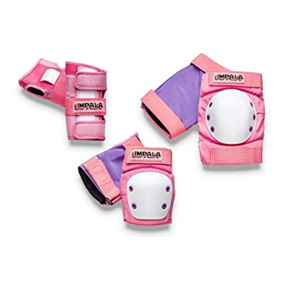 Impala Rollerskates Impala Protective Set (Little Kids/Big Kids) : Sports & Outdoors