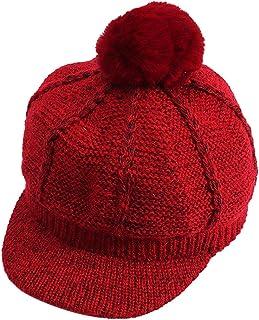 Sanwood Baby Hat,Winter Baby Boy Girl Kids Pompom Knitted Cap Warm Peaked Flat Hat